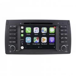 Autoradio Android tactile GPS Bluetooth BMW Serie 5 E39, M5, X5 E53, Serie 7 E38 + caméra de recul