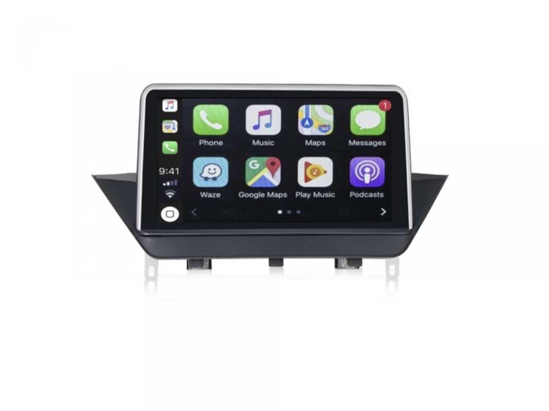 Autoradio gps carplay android auto bluetooth bmw x1 e84 1 1