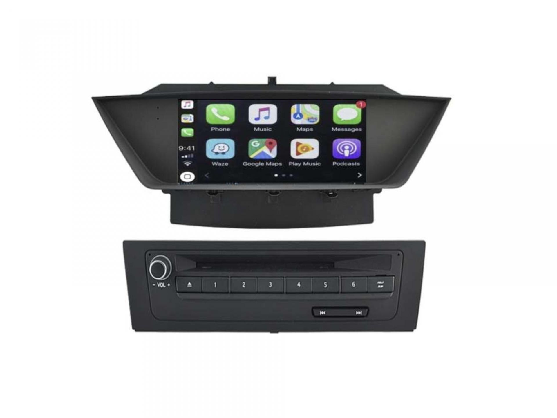 Autoradio gps carplay android auto bluetooth bmw x1 e84 1