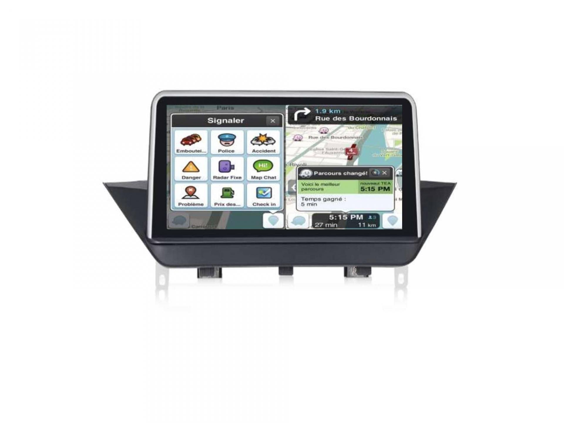 Autoradio gps carplay android auto bluetooth bmw x1 e84 3 1