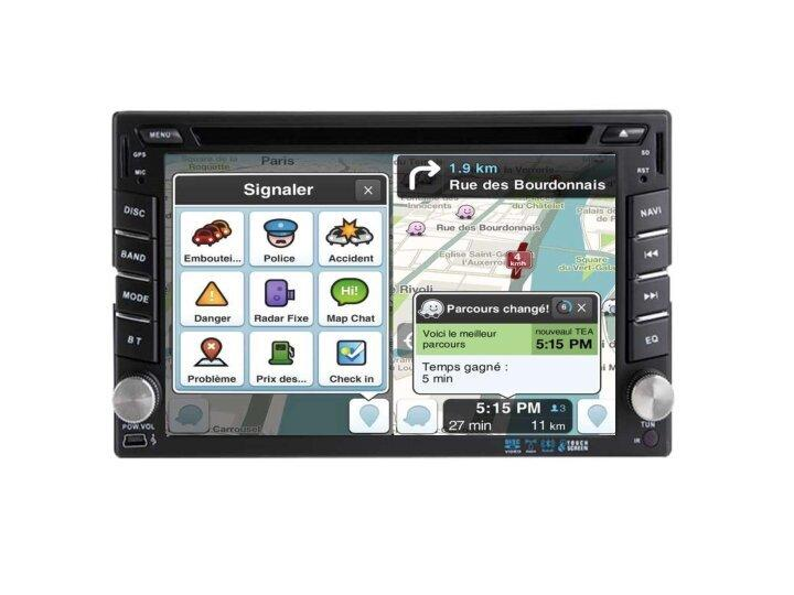 Autoradio gps carplay android auto bluetooth jaguar type s x type 7