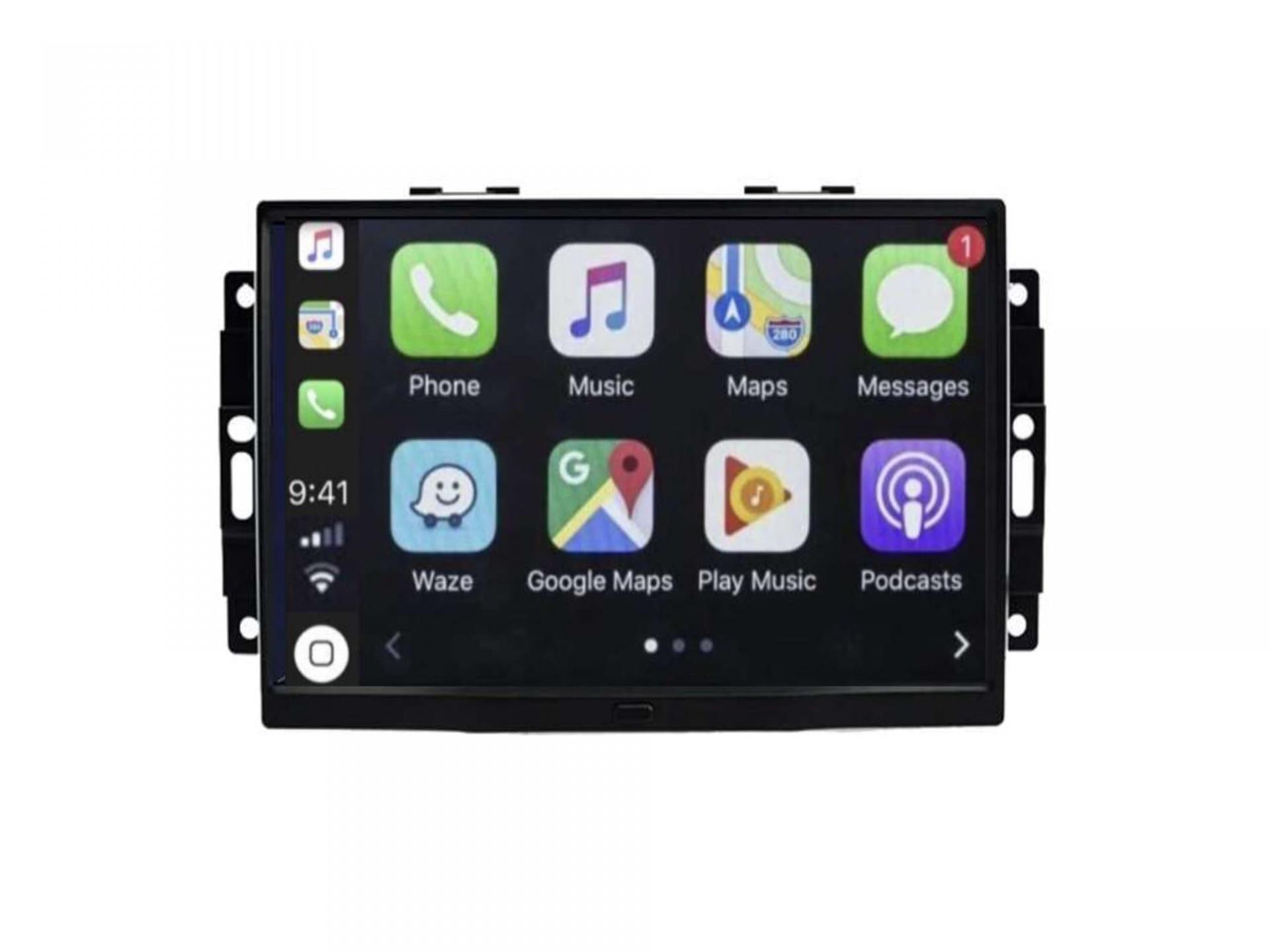 Autoradio gps carplay android auto bluetooth jeep grand cherokee compass commander 2006 2010 3