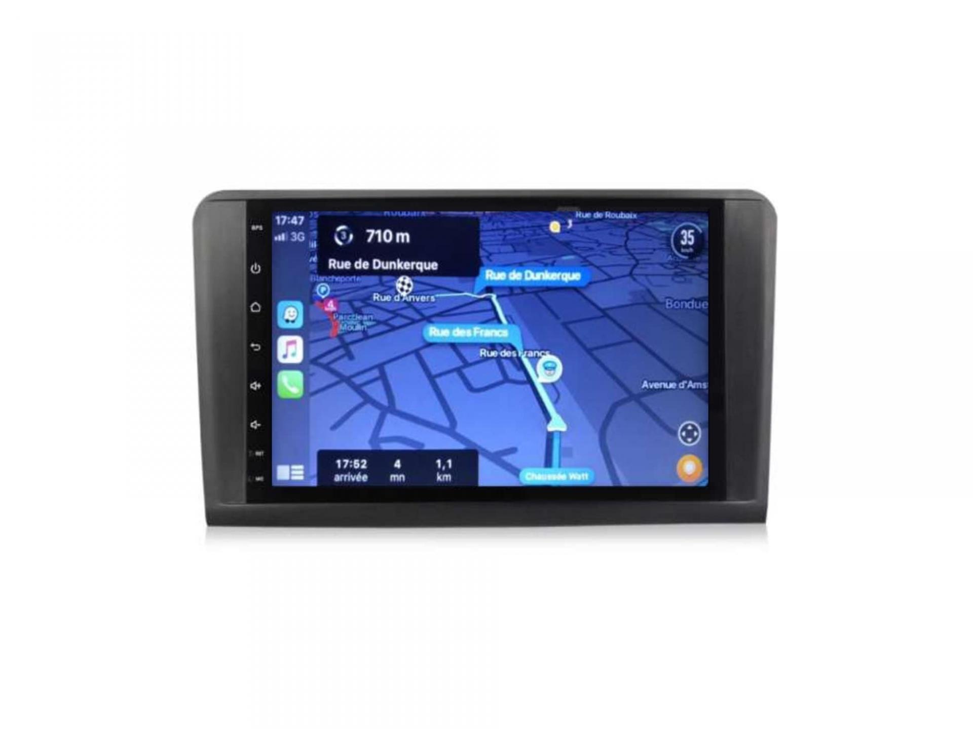 Autoradio gps carplay android auto bluetooth mercedes ml w164 gl x164 5