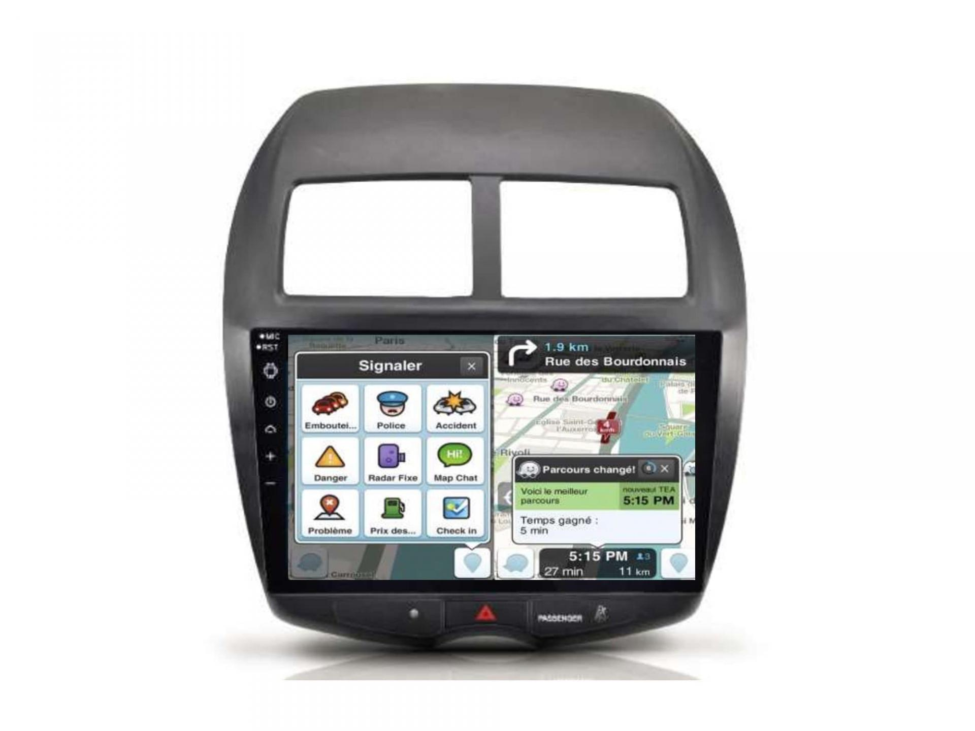 Autoradio gps carplay android auto bluetooth mitsubishi asx outlander 1