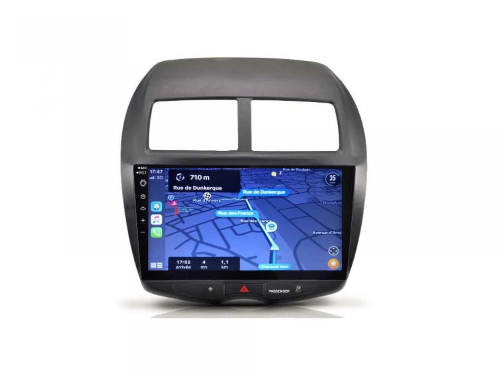 Autoradio gps carplay android auto bluetooth mitsubishi asx outlander 2