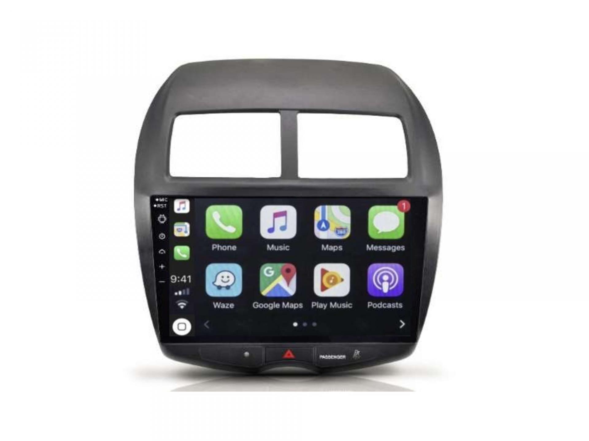 Autoradio gps carplay android auto bluetooth mitsubishi asx outlander 3
