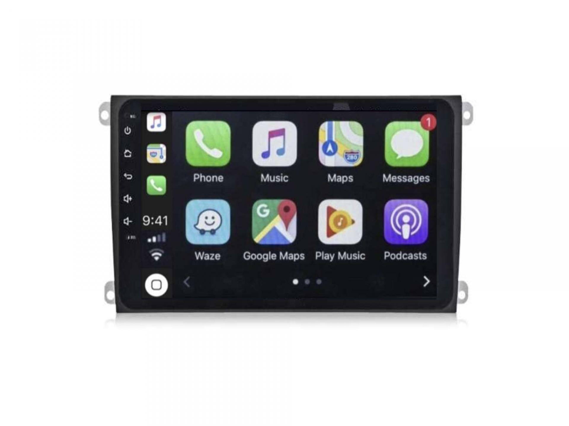 Autoradio gps carplay android auto bluetooth porsche cayenne 4