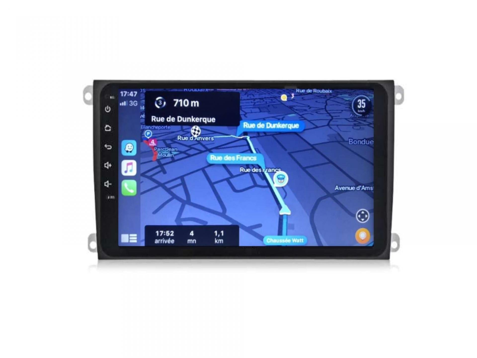 Autoradio gps carplay android auto bluetooth porsche cayenne 6