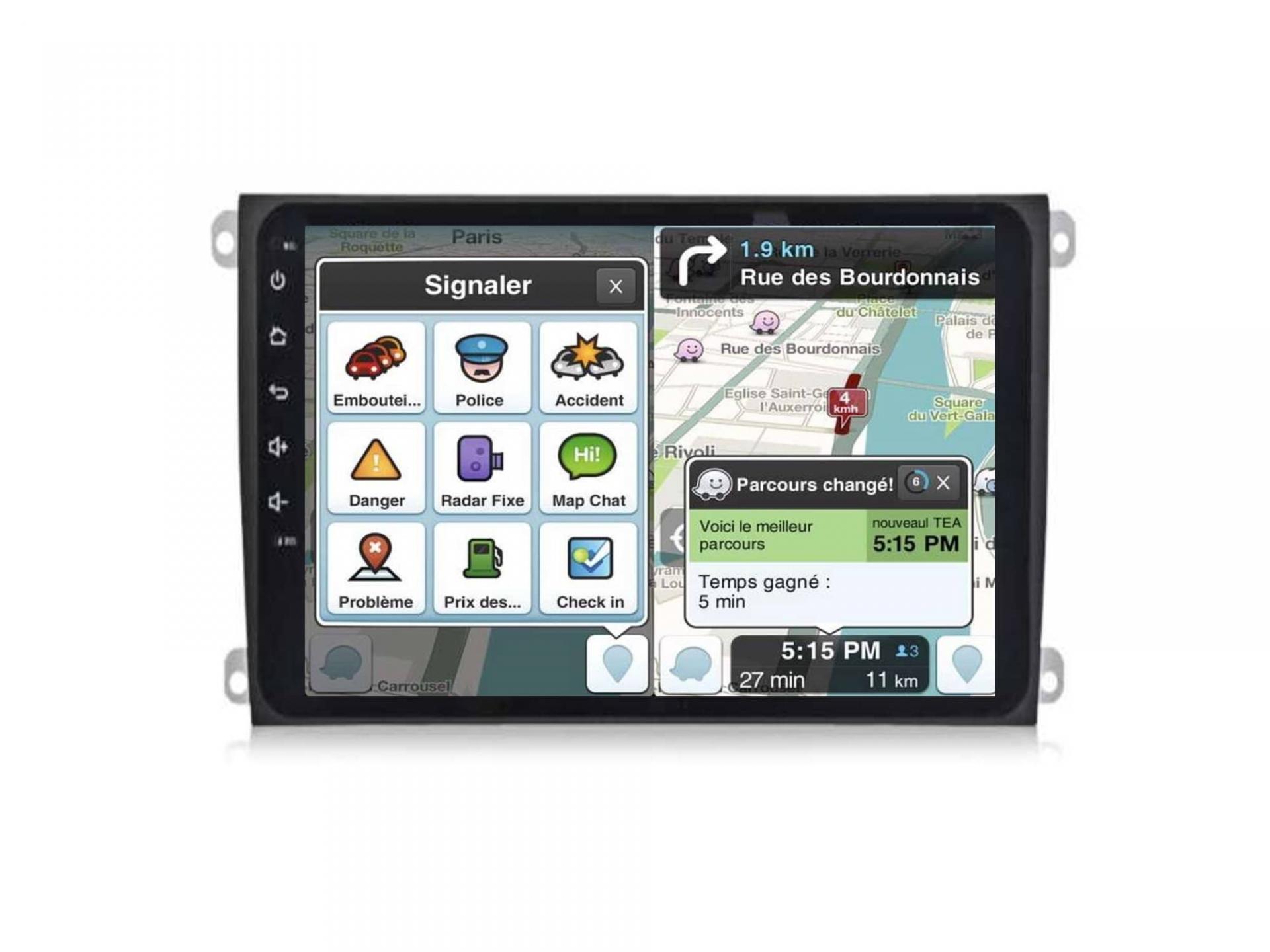 Autoradio gps carplay android auto bluetooth porsche cayenne 7