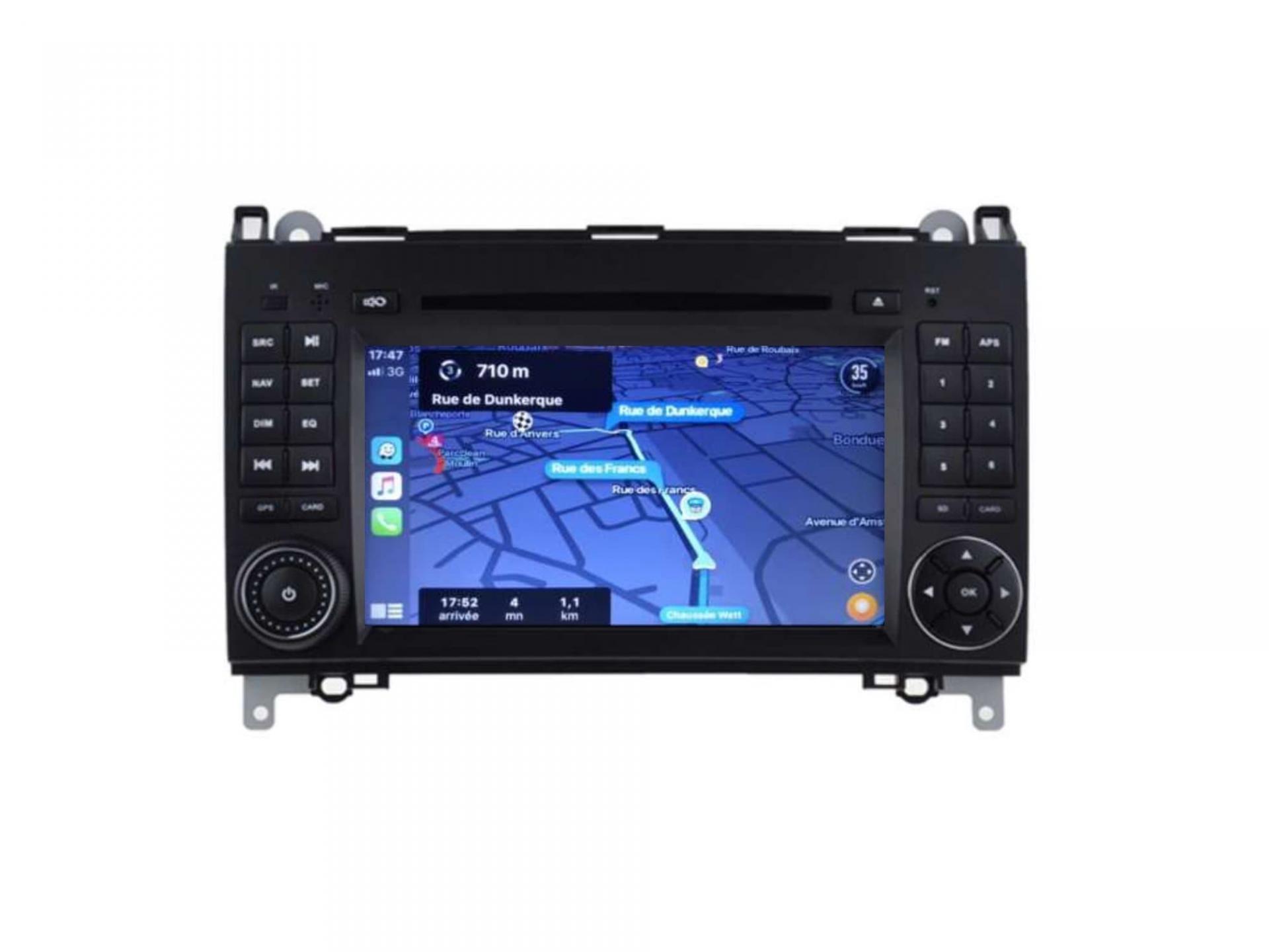 Autoradio gps carplay android auto bluetooth vw crafter lt3 1