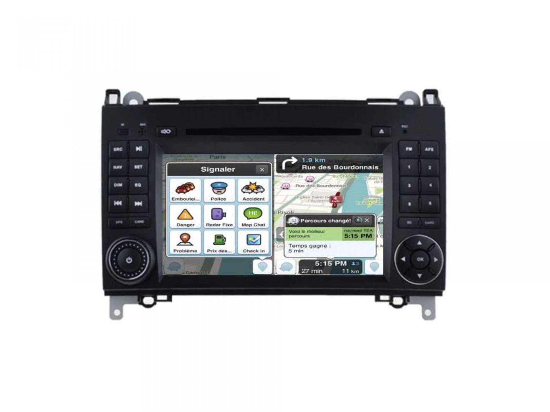 Autoradio gps carplay android auto bluetooth vw crafter lt3 2