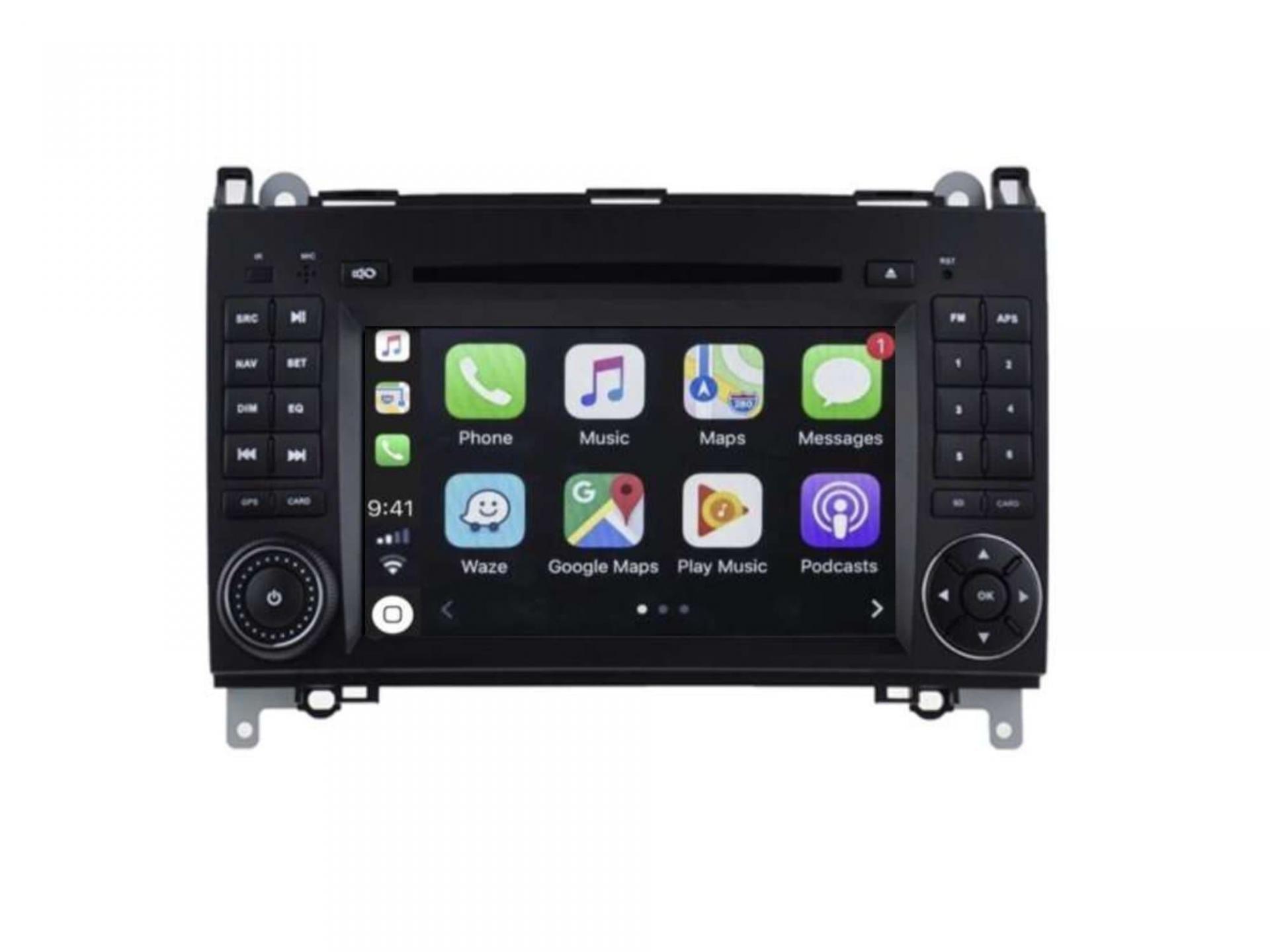 Autoradio gps carplay android auto bluetooth vw crafter lt3 3