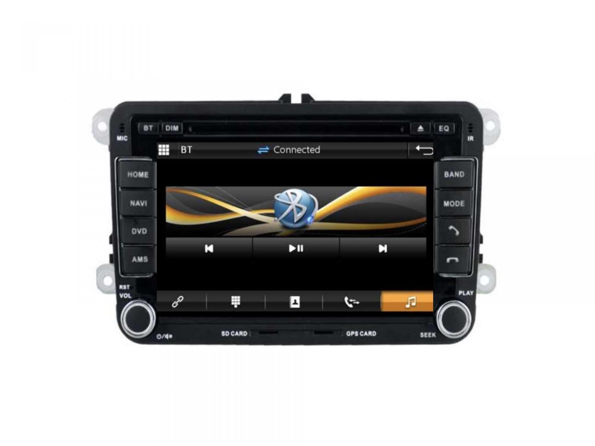 Autoradio gps carplay android auto bluetooth vw golf 5 6 touran tiguan passat transporter t5 t6 polo scirocco beetle eos 1