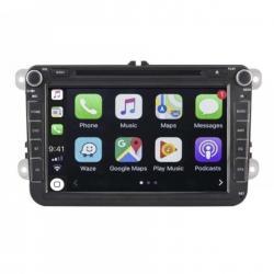 Autoradio Android tactile GPS Bluetooth VW Golf 5&6,Touran,Tiguan,Passat,Transporter T5,Polo,Scirocco,Beetle et EOS + caméra