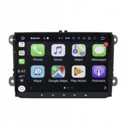 Autoradio Android full tactile GPS Bluetooth VW Golf 5&6,Touran,Tiguan,Passat,Transporter T5&T6,Polo,Scirocco,Beetle + caméra