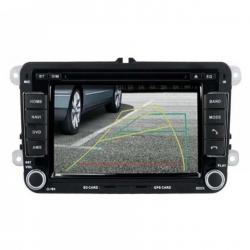Autoradio Standard tactile GPS Bluetooth VW Golf5 et 6,Touran,Tiguan,Passat,Transporter T5,Polo,Scirocco,Beetle et EOS+ caméra