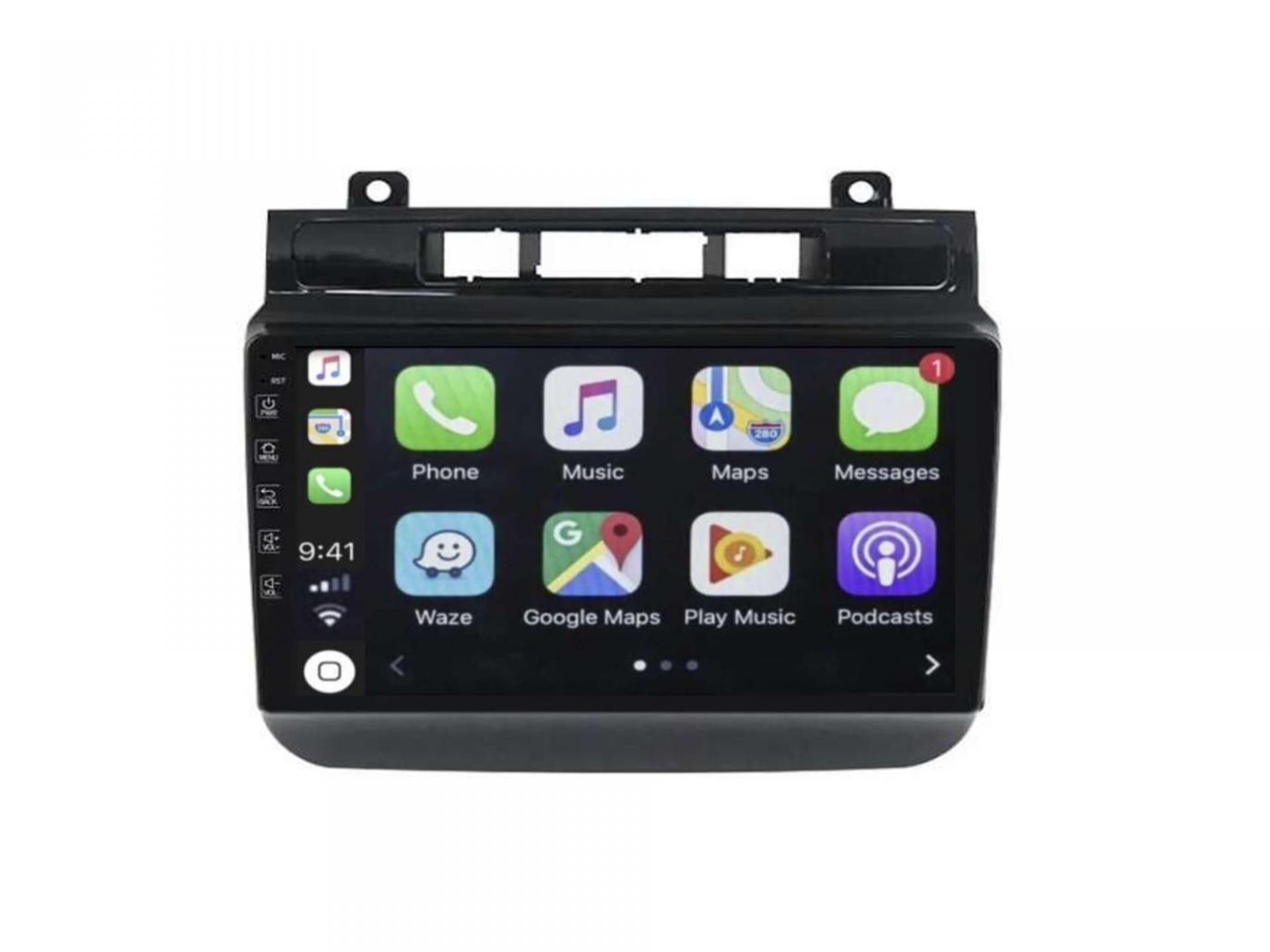 Autoradio gps carplay android auto bluetooth vw touareg multivan transporter 1 2