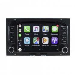 Autoradio Android tactile GPS Bluetooth VW Touareg et Transporter T5 jusqu'à 2009 + T5 California jusqu'à 2012 + caméra de recul