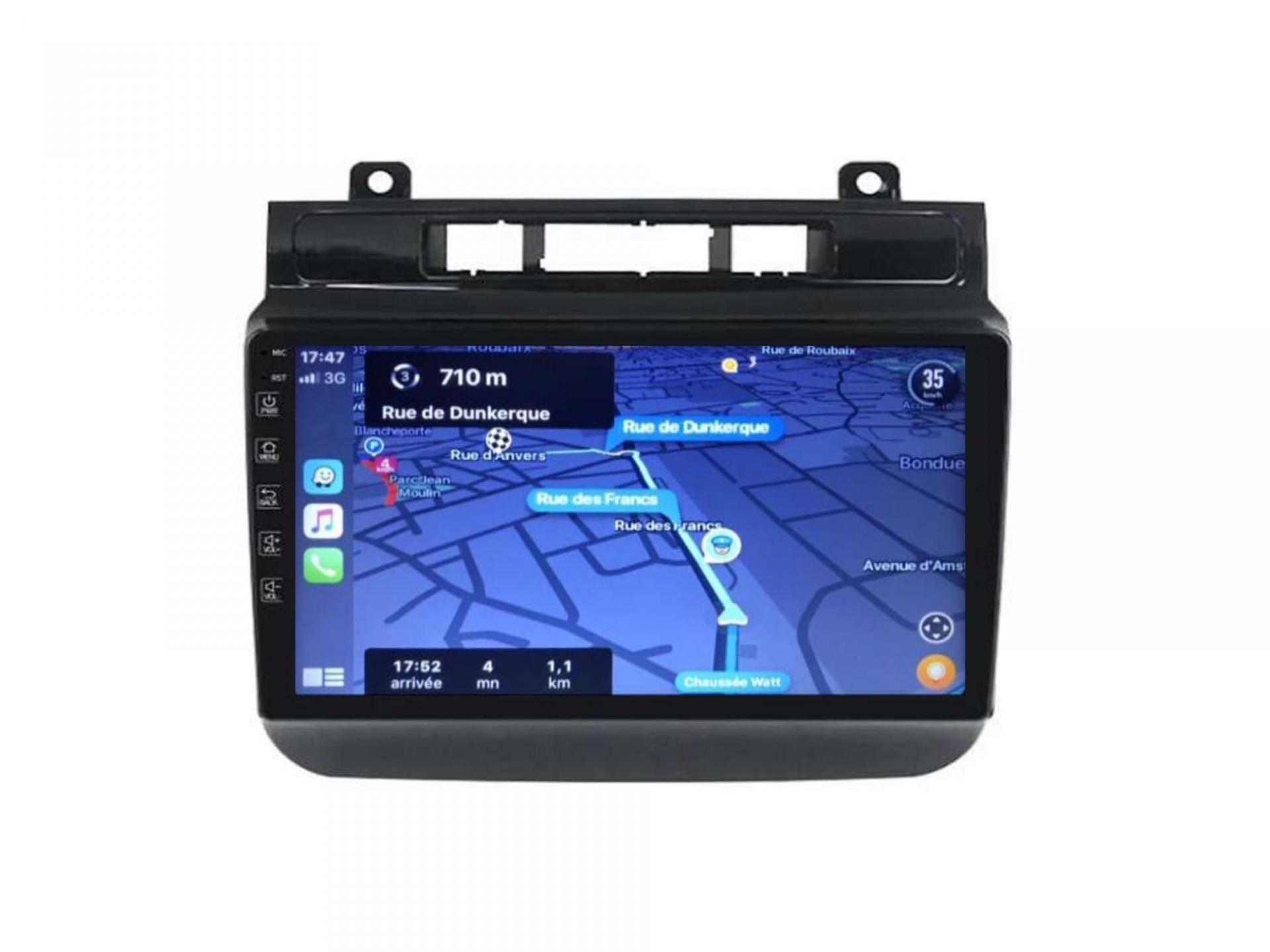 Autoradio gps carplay android auto bluetooth vw touareg multivan transporter 3 2