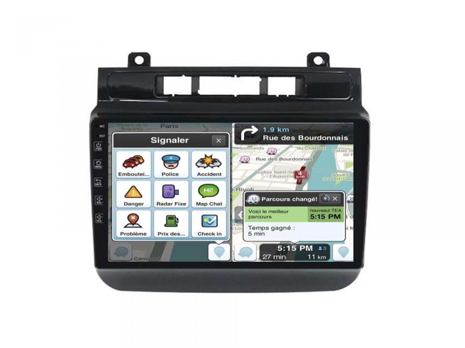 Autoradio gps carplay android auto bluetooth vw touareg multivan transporter 4 2