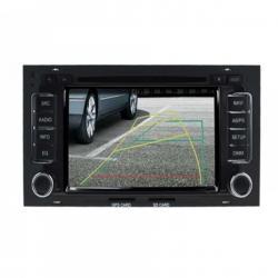 Autoradio standard tactile GPS Bluetooth VW Touareg et Multivan Transporter de 2003 à 2010 + caméra de recul