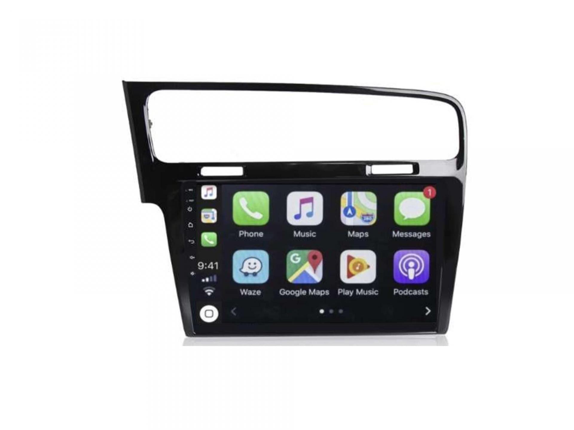 Autoradio gps carplay android auto bluetooth vw volkswagen golf 7 1