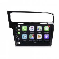 Autoradio Android full tactile GPS Bluetooth VolkswagenGolf 7 de de 2012 à 2020+ caméra de recul