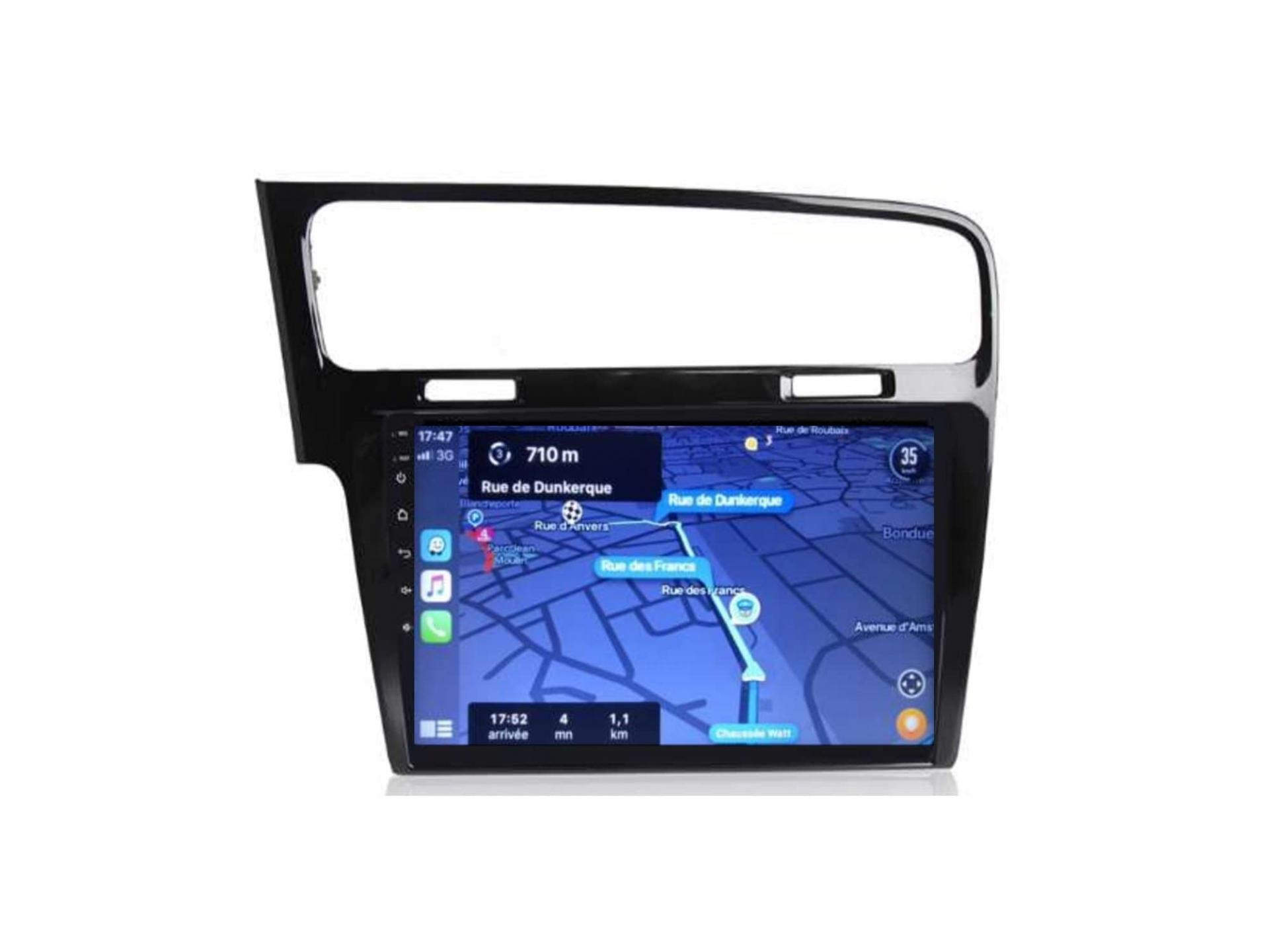 Autoradio gps carplay android auto bluetooth vw volkswagen golf 7 3