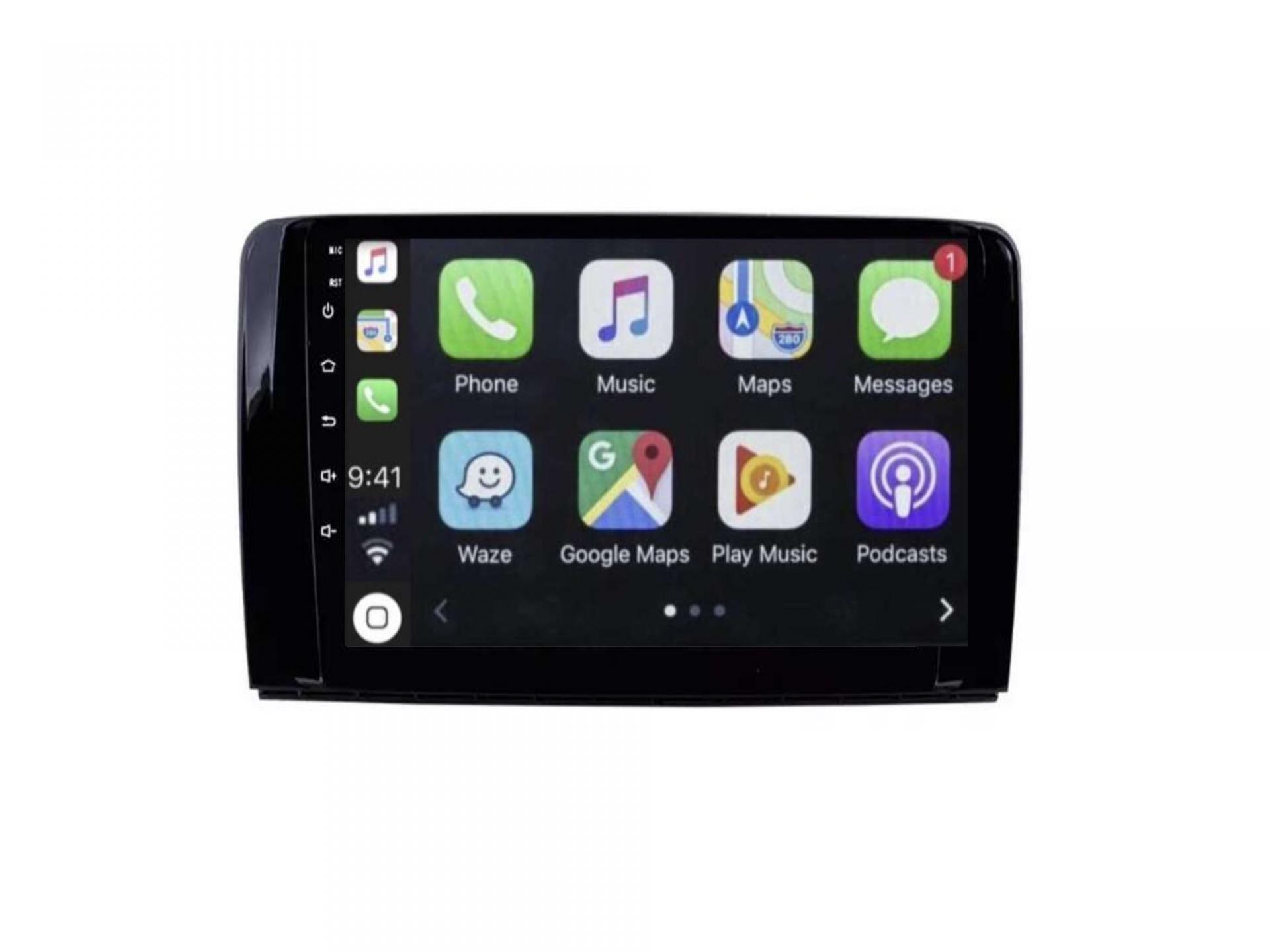 Autoradio gps carplay android auto bluetooth wifi mercedes classe r w251 r280 r300 r350 r63 1