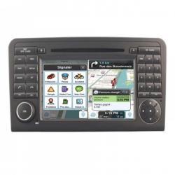 Autoradio Android tactile GPS Bluetooth Mercedes ML W164, GL X164 2005 à 2012 + caméra de recul