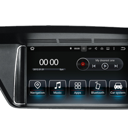 Autoradio Android tactile GPS Bluetooth Mercedes Classe E W212 + caméra de recul