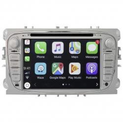 Autoradio tactile GPS Bluetooth Android Ford Focus, C-Max, S-Max Galaxy et Mondeo + caméra de recul