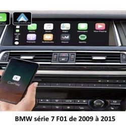 Boîtier Apple Carplay & Android Auto sans fil pour BMW série 7 F01 de 2009 à 2015