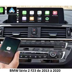 Boîtier Apple Carplay & Android Auto sans fil pour BMW série 2 F23 de 2013 à 2020