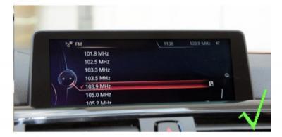 Bmw f20 f23 21 7 f06 f12 g11 carplay android auto gps autoradio i3 x3 m3 m5 x1 f48 x2 f39 2010 2011 2012 2013 2014 2015 2016 2017 2018 2019 audi a3 ds4 e84 camera de recul commande
