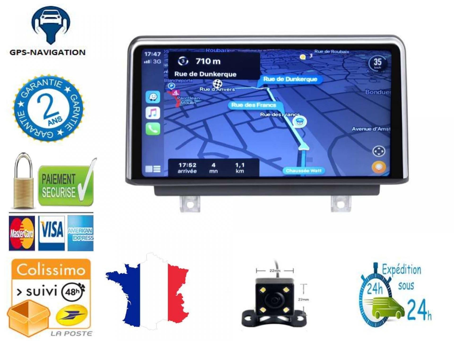Bmw gps carplay android auto gps bluetooth 2