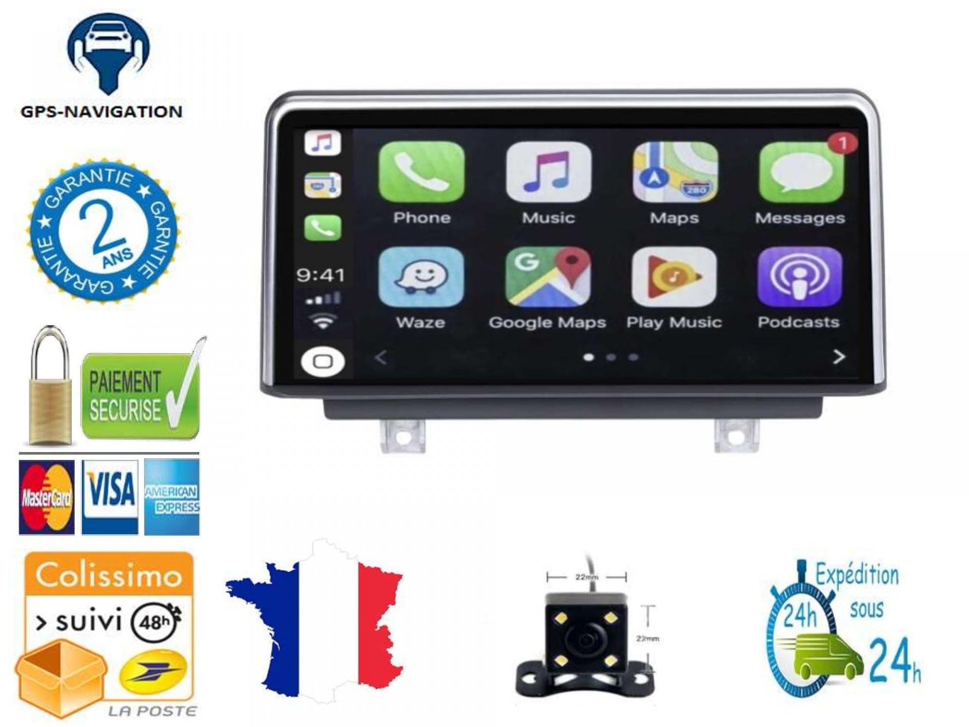 Bmw gps carplay android auto gps bluetooth 3