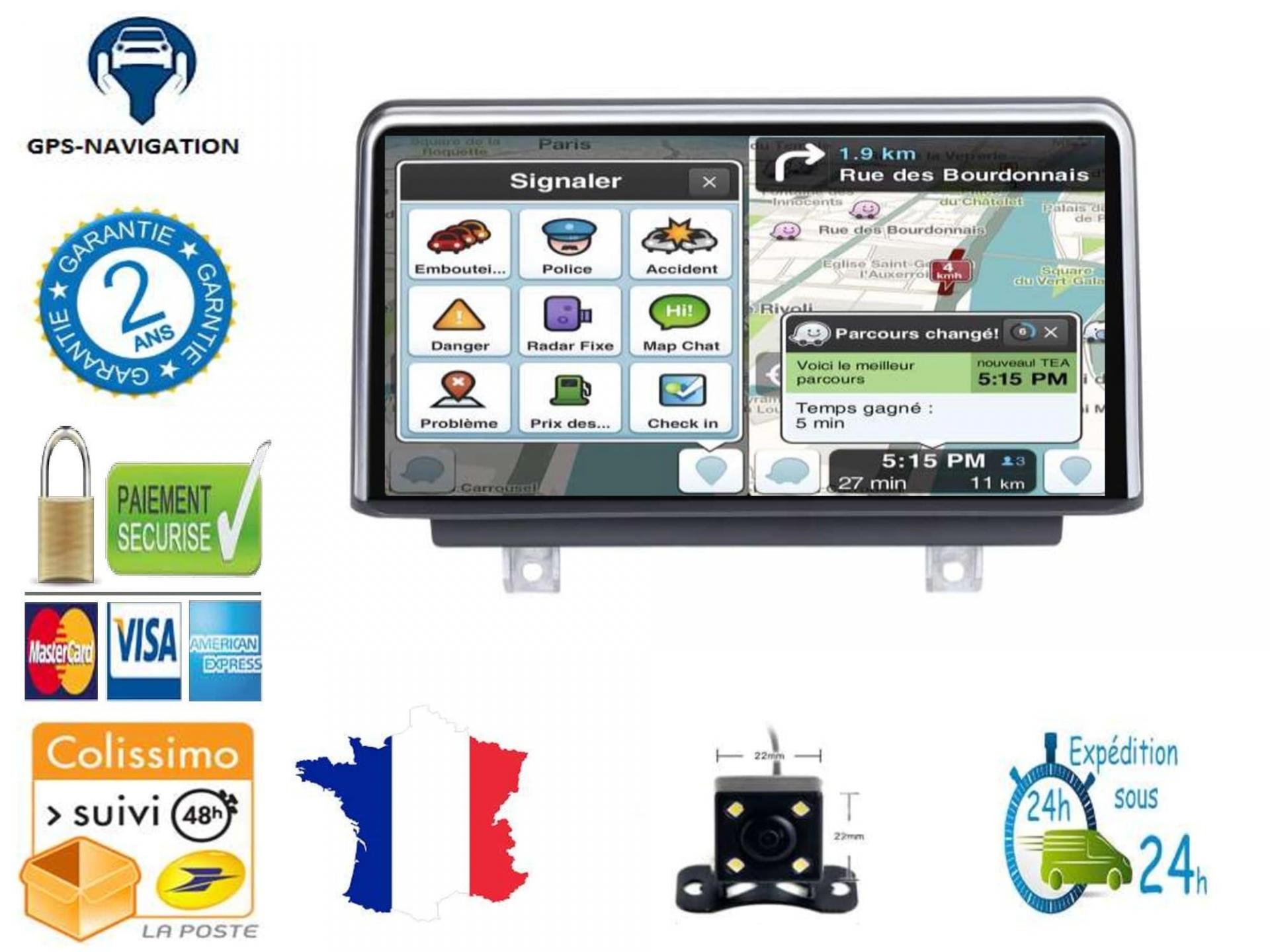 Bmw gps carplay android auto gps bluetooth 4