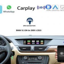 Boîtier Apple Carplay & Android Auto sans fil pour BMW X1 E84 de 2009 à 2015