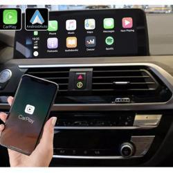 Boîtier Apple Carplay & Android Auto sans fil pour BMW X3 G01 et BMW X4 G02 à partir de 2018