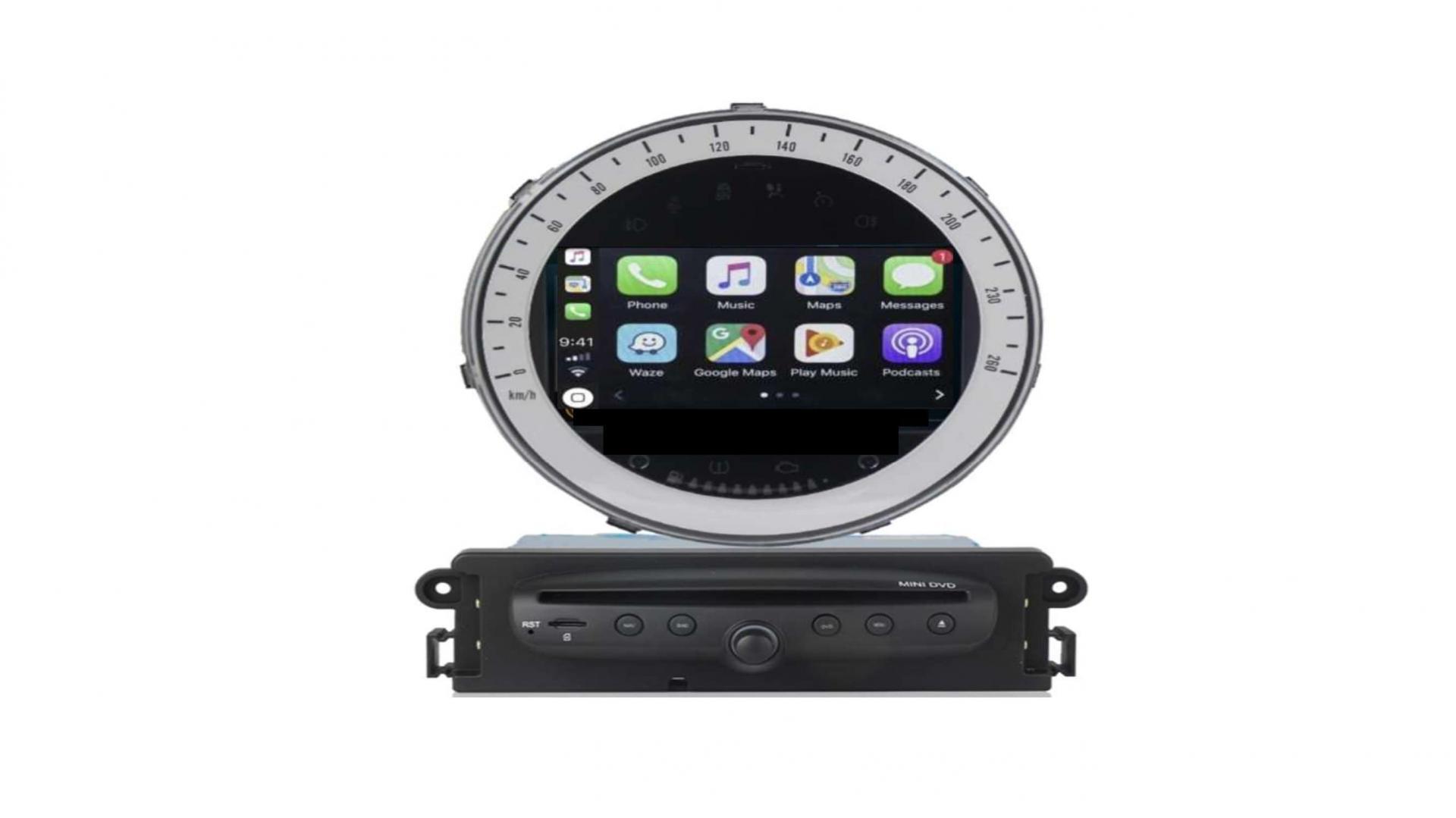 Bmw mini autoradio gps bluetooth android auto carplay camera de recul commande au volant