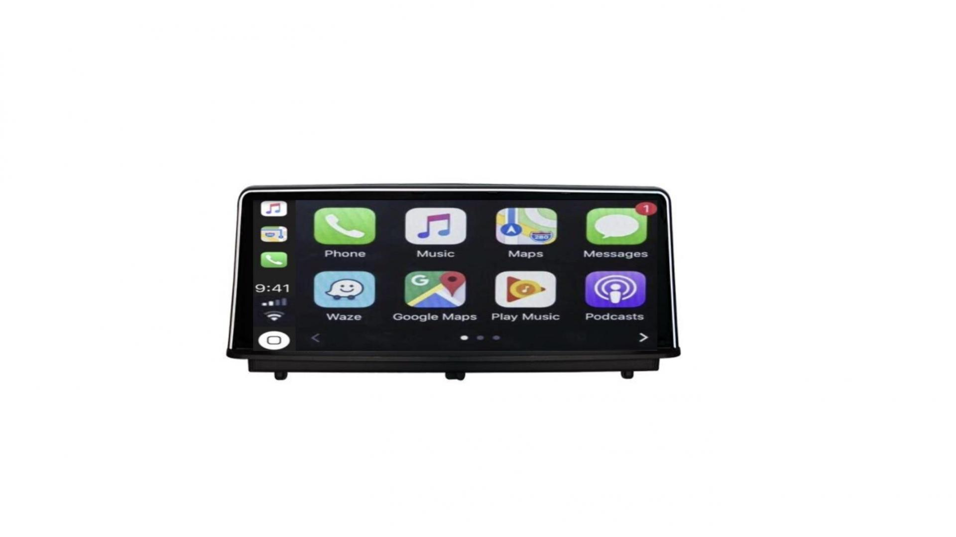 Bmw se rie 2 f23 f30 f34 bmw se rie 4 2012 2020 autoradio gps bluetooth android auto carplay camera de recul commande au volant2