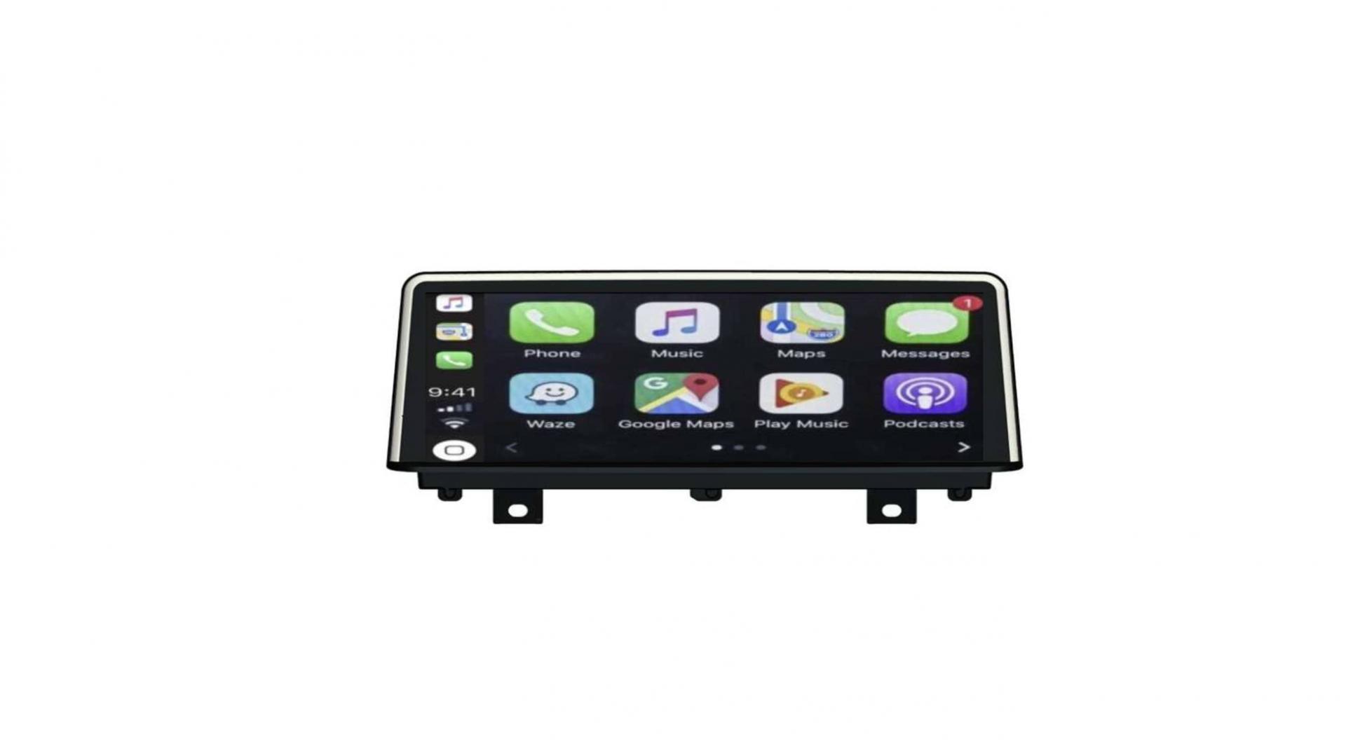 Bmw se rie 3 f30 f34 bmw se rie 4 2012 2020 autoradio gps bluetooth android auto carplay camera de recul commande au volant1