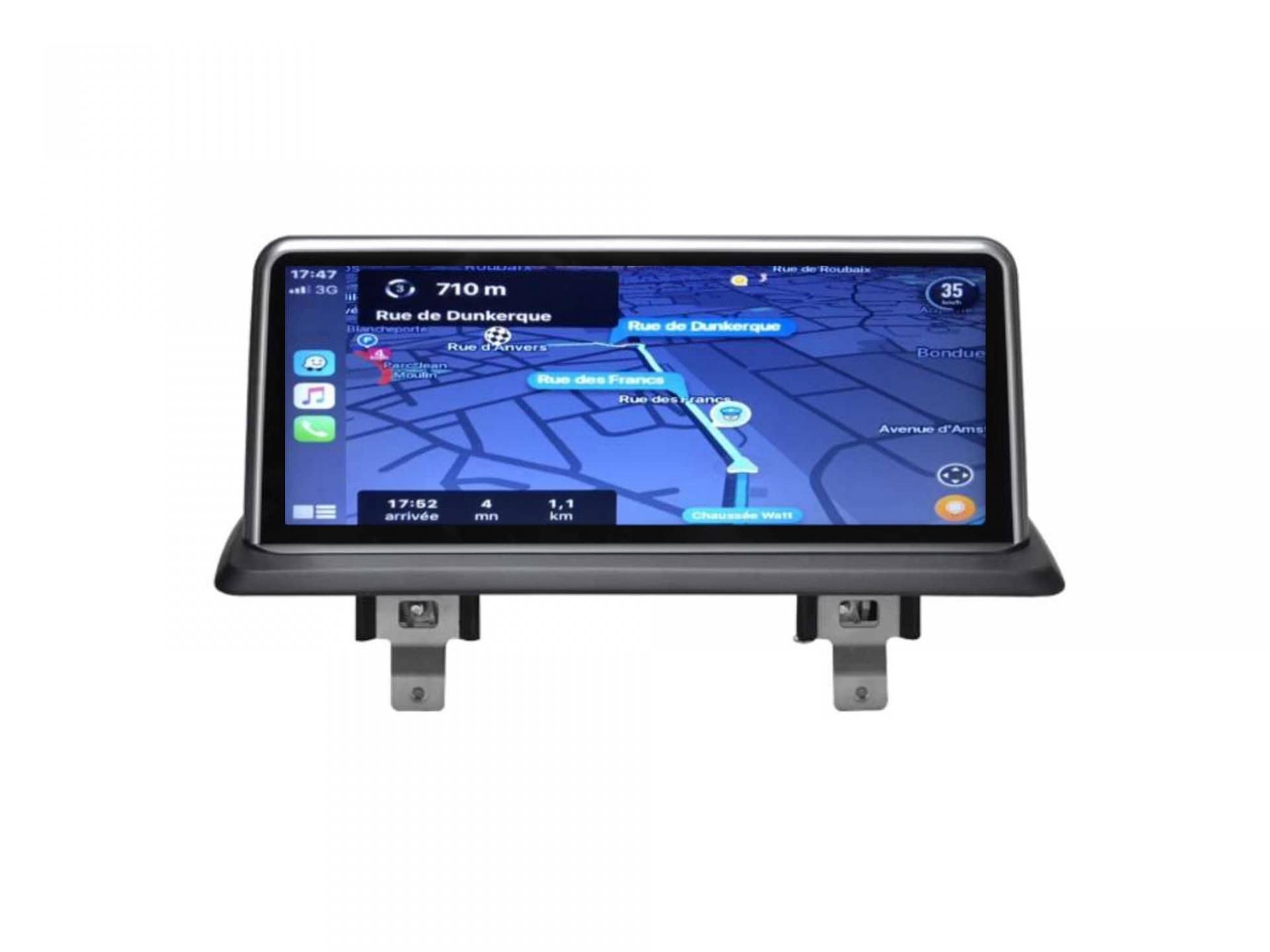 Bmw serie 1 e81 e82 e87 e88 autoradio gps carplay android auto bluetooth 2