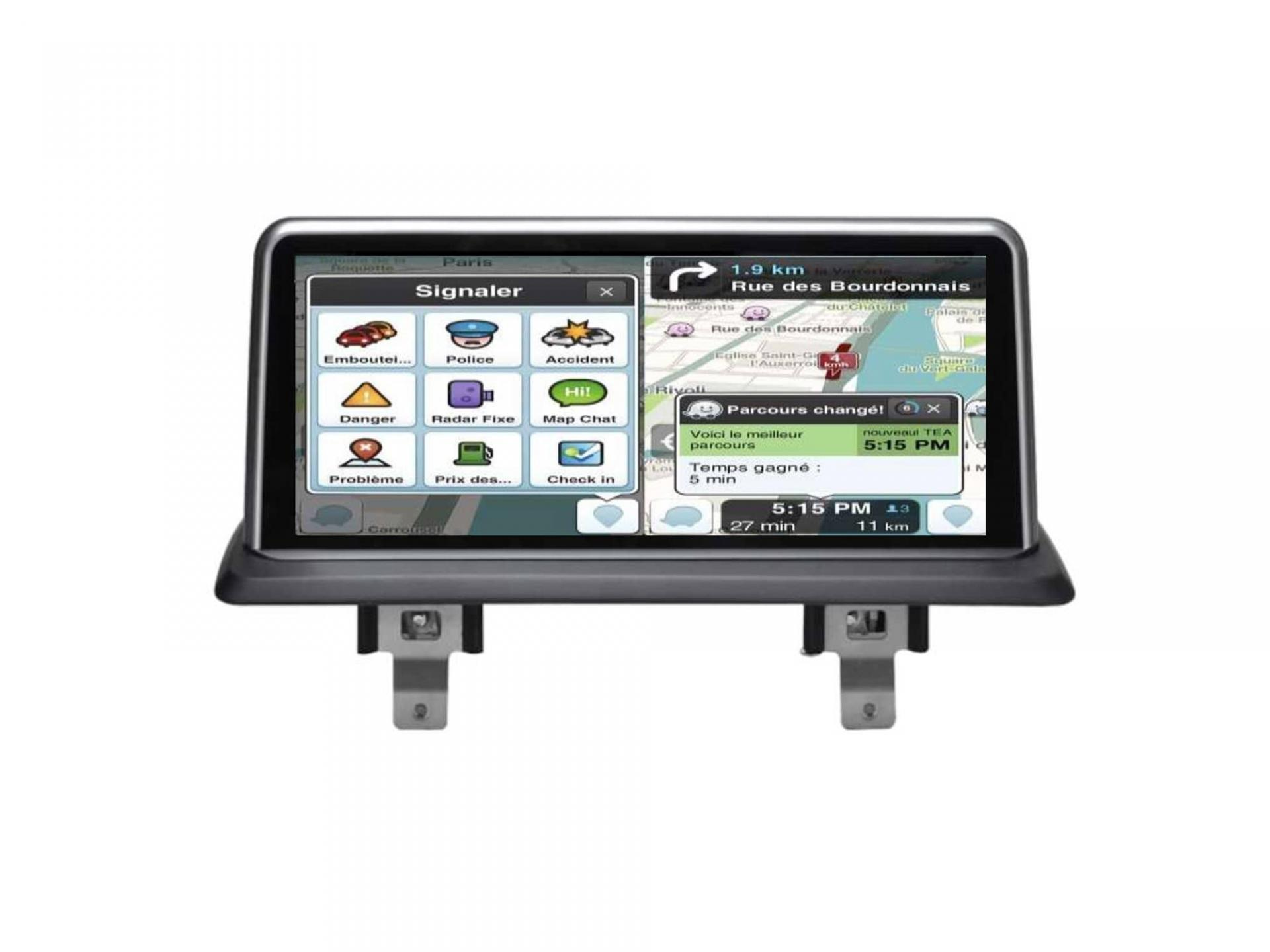 Bmw serie 1 e81 e82 e87 e88 autoradio gps carplay android auto bluetooth 3 1
