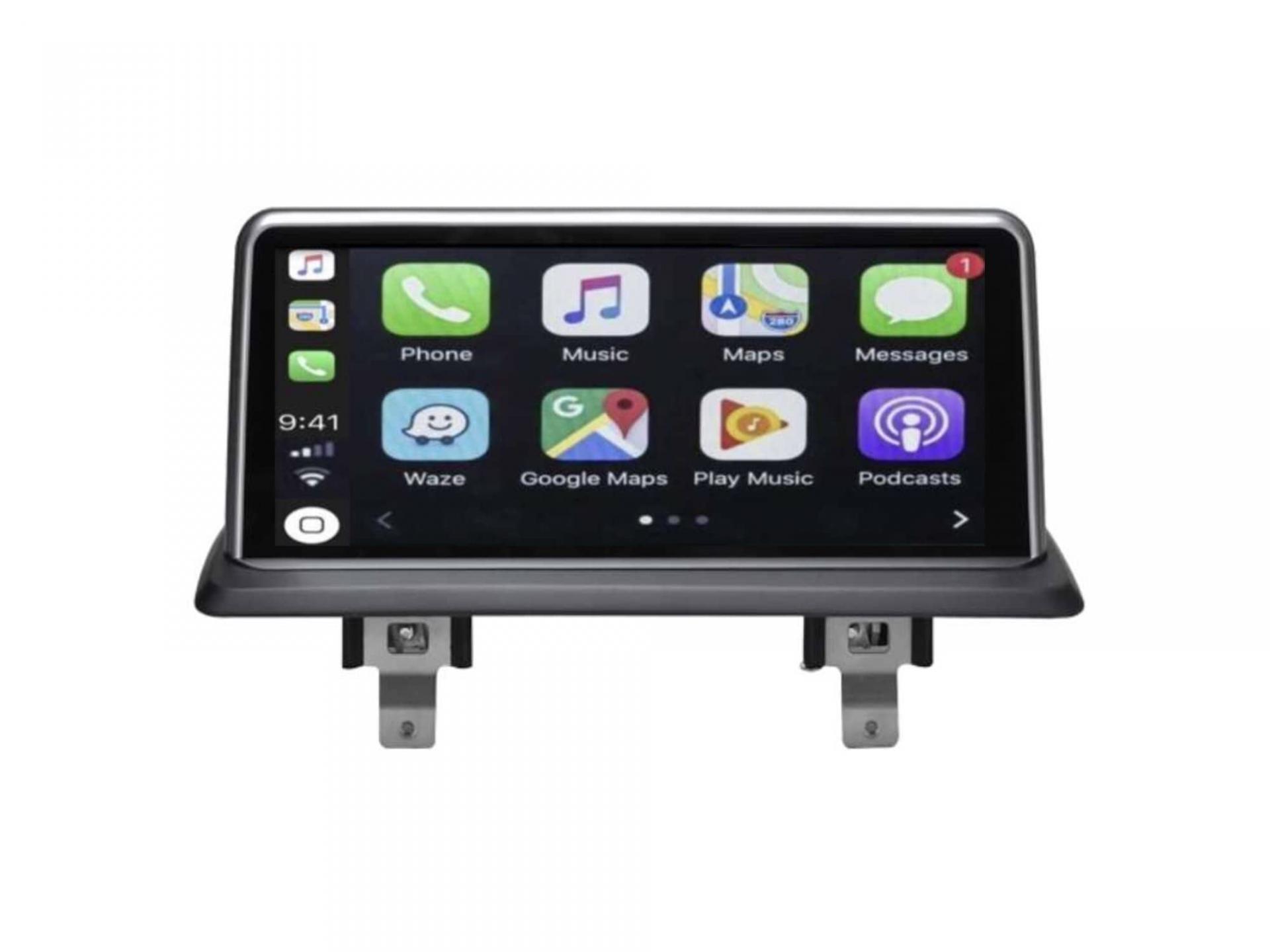 Bmw serie 1 e81 e82 e87 e88 autoradio gps carplay android auto bluetooth 4 1