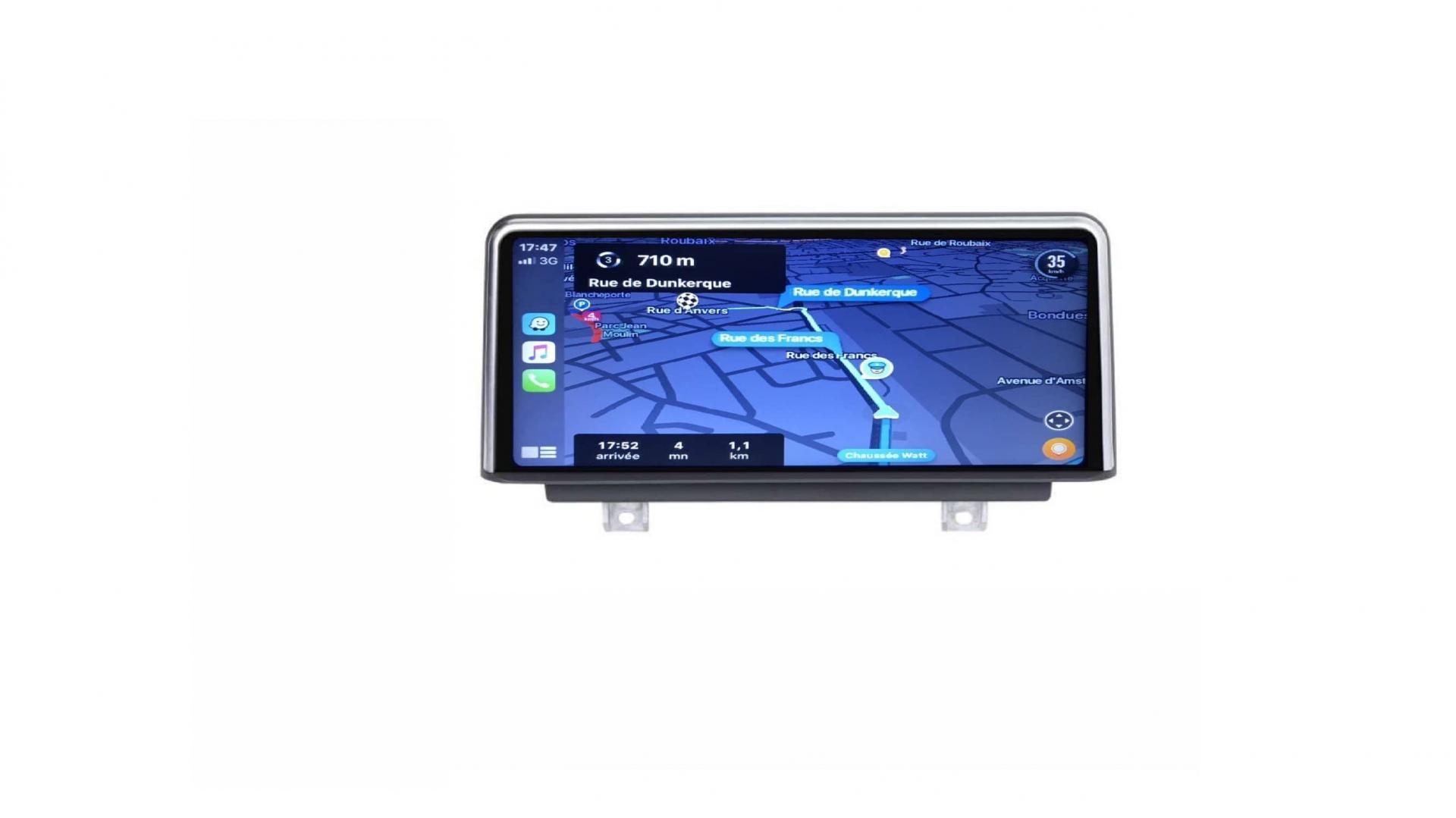 Bmw serie 1 f20 f21 autoradio gps bluetooth android auto carplay camera de recul commande au volant4
