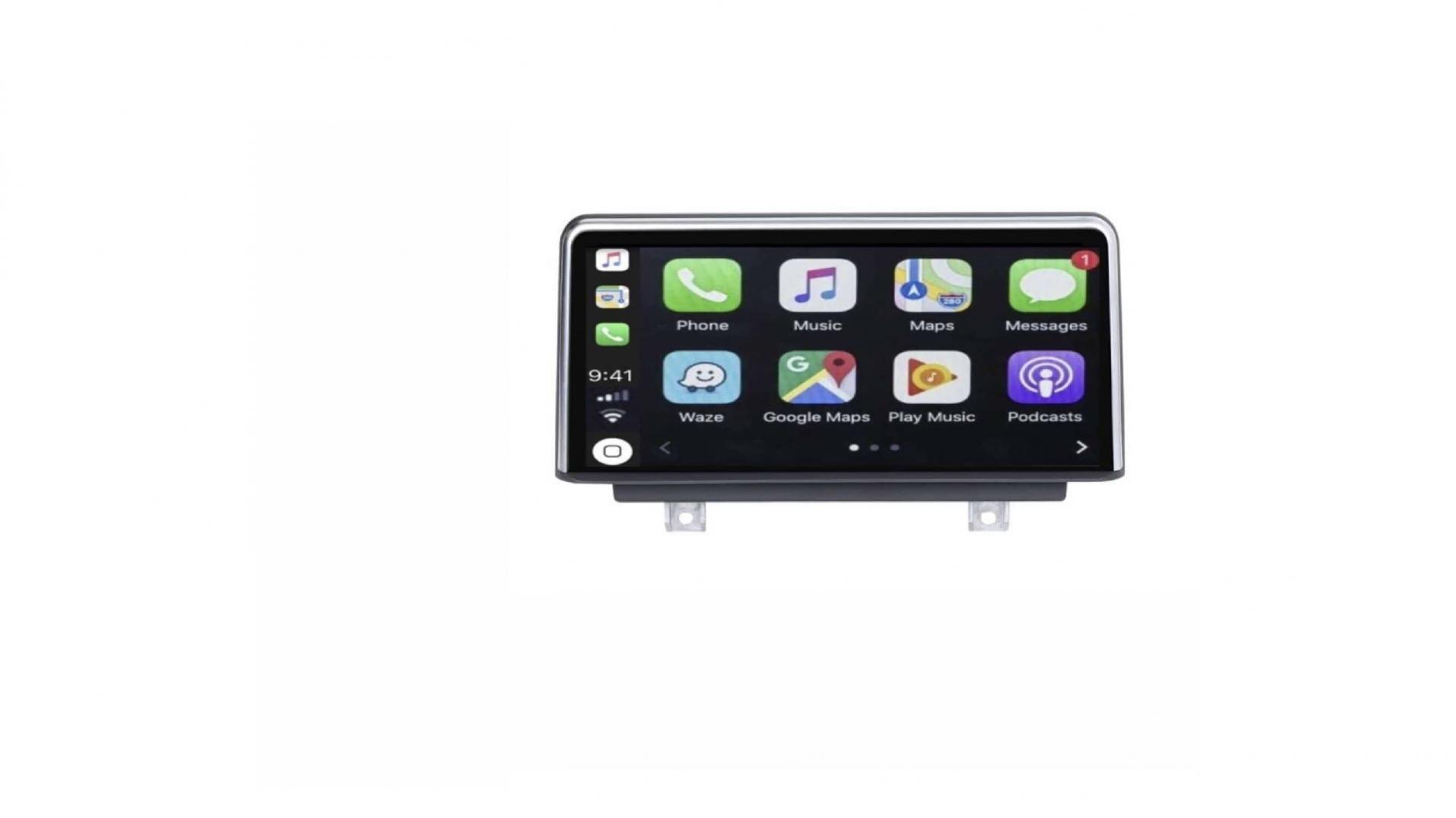 Bmw serie 1 f20 f21 autoradio gps bluetooth android auto carplay camera de recul commande au volant6