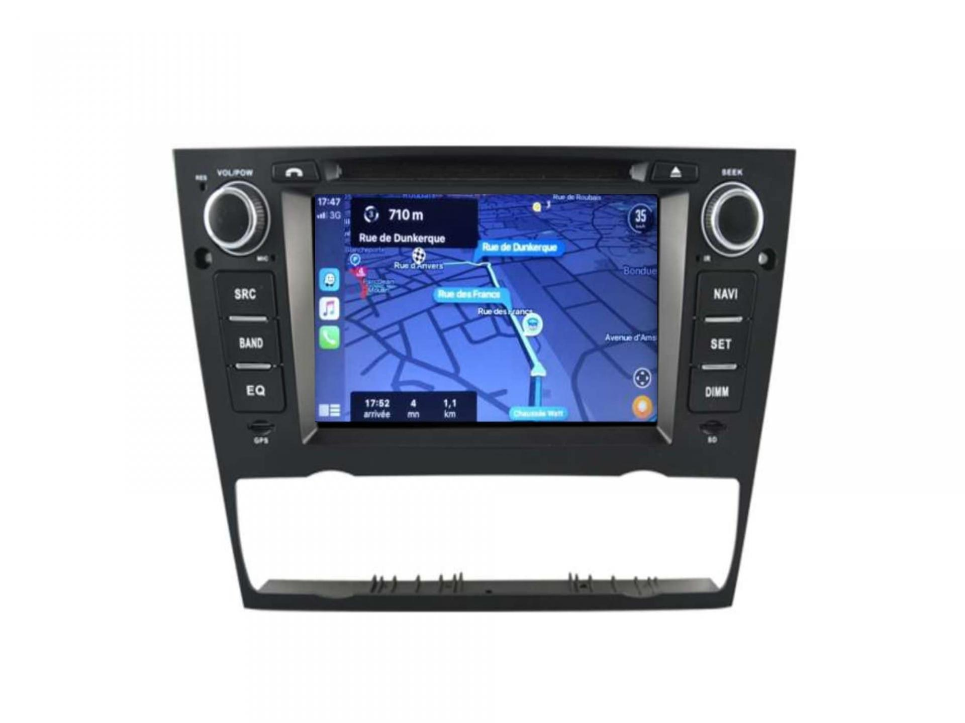 Bmw serie 3 e90 e91 e92 e93 autoradio gps carplay android auto bluetooth 4