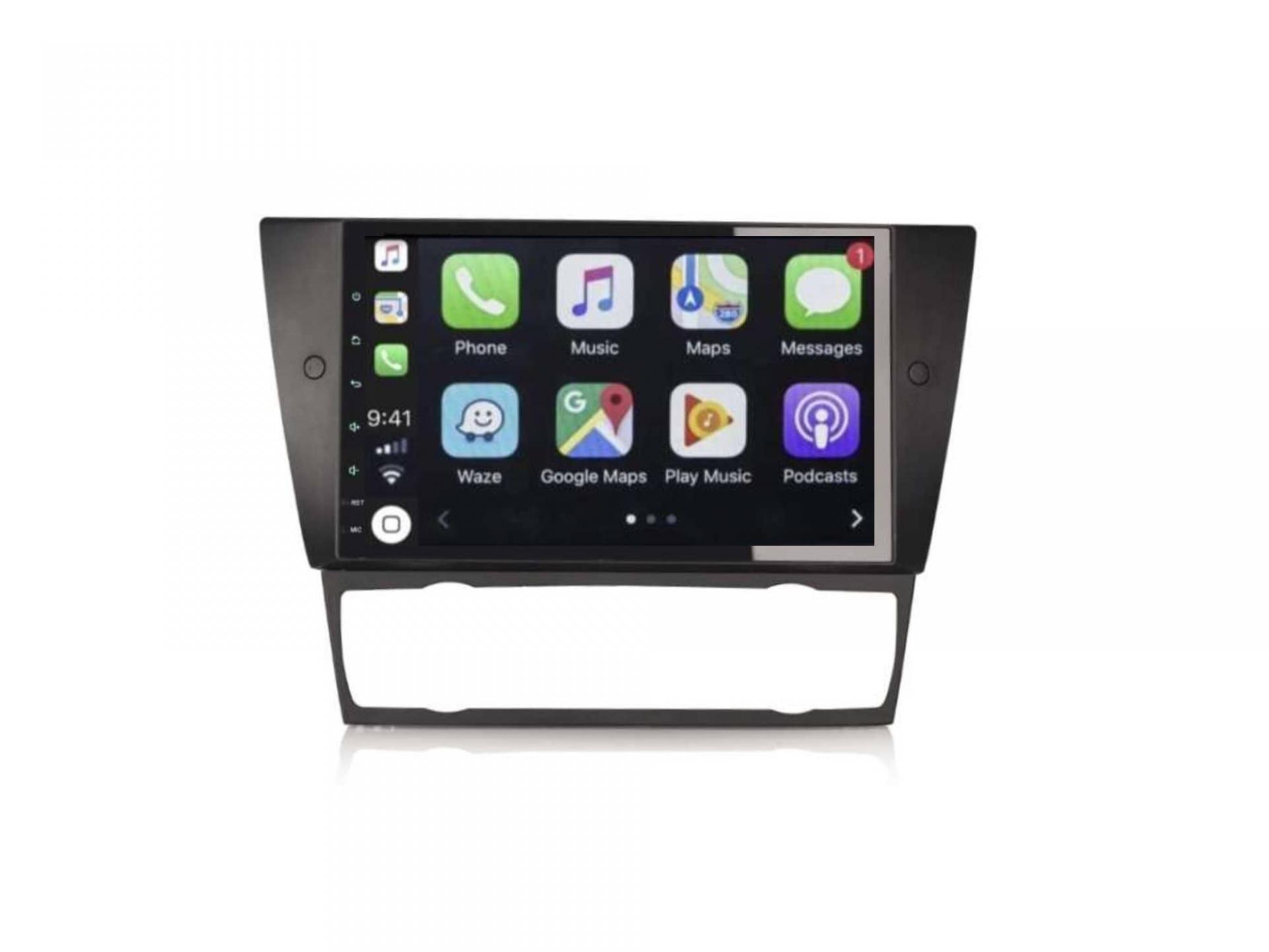 Bmw serie 3 e90 e91 e92 e93 autoradio gps carplay android auto bluetooth 5 1